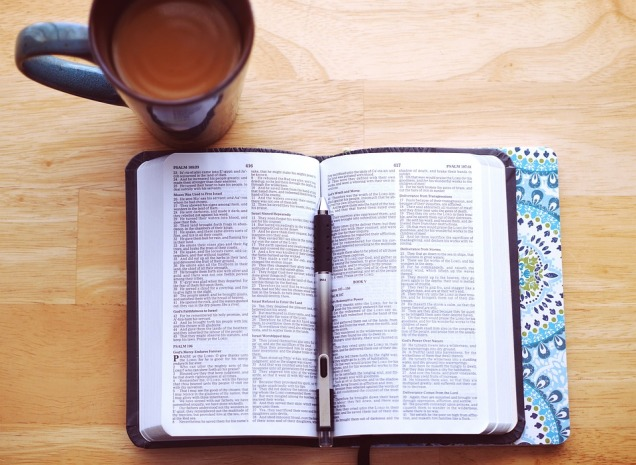bible coffee cup
