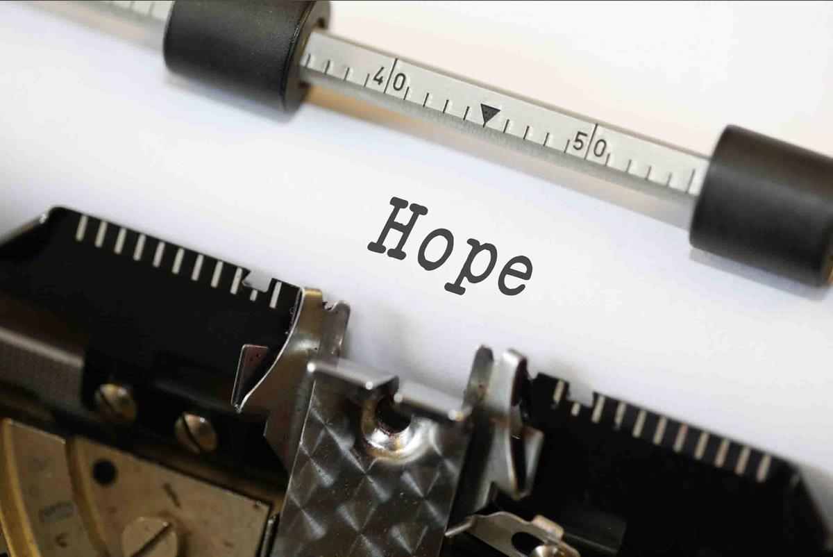 hope typewriter